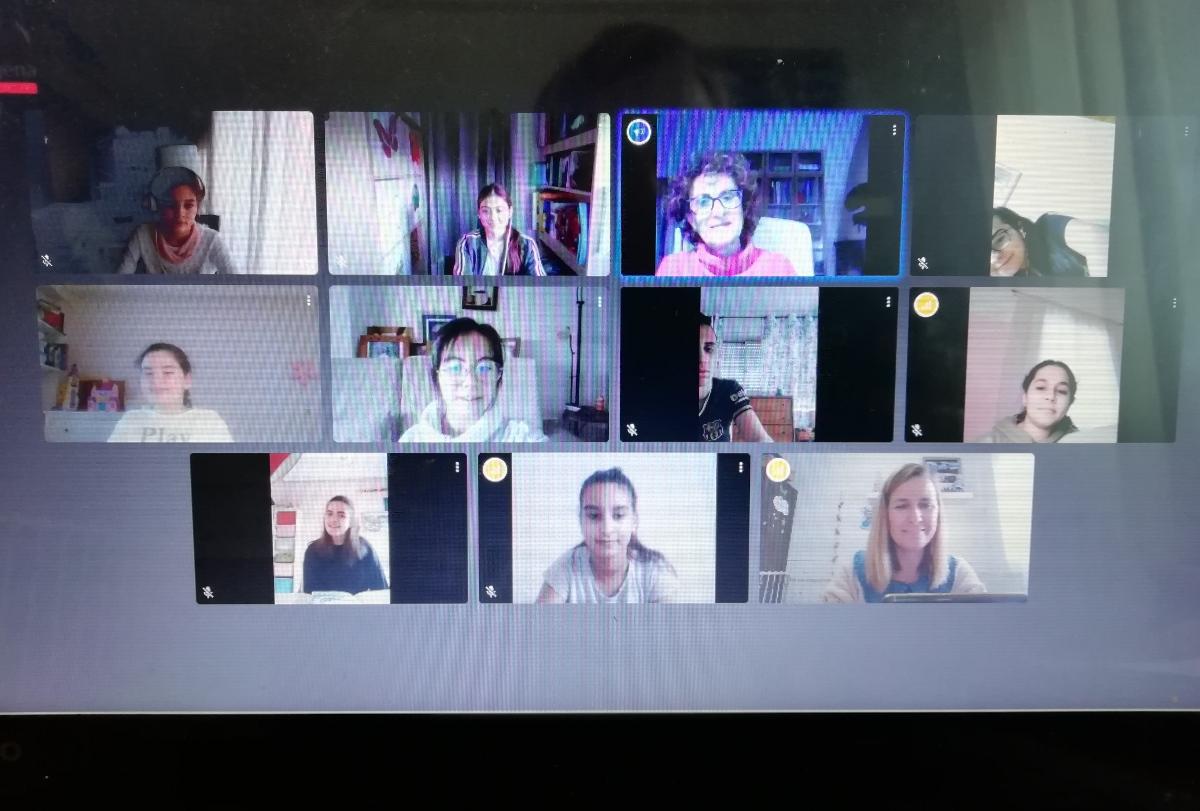 Reunión virtual del Consejo municipal de Infancia y Adolescencia