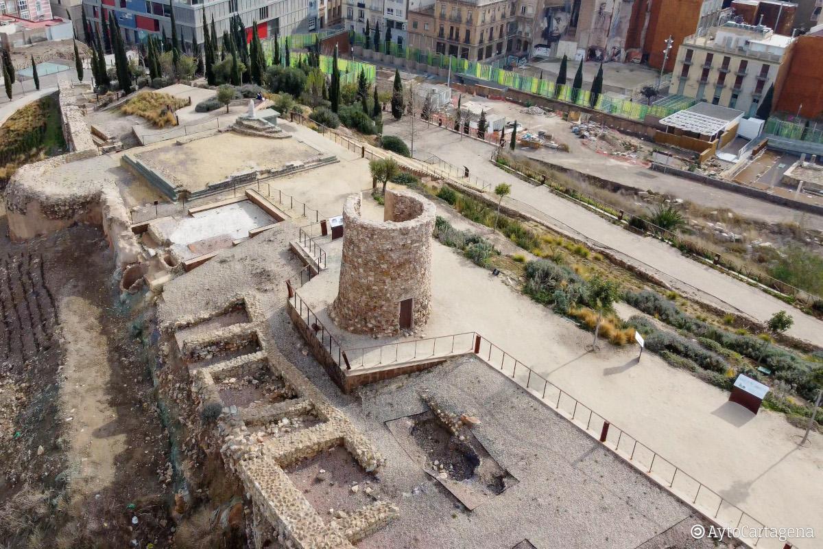 Recuperación de los restos aqueológicos del cerro del Molinete