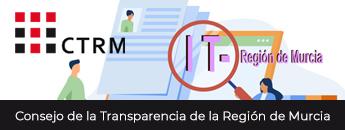 Web del Consejo de la Transparencia de la Región de Murcia