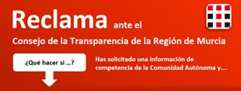Cómo reclamar Consejo de la Transparencia de la Región de Murcia