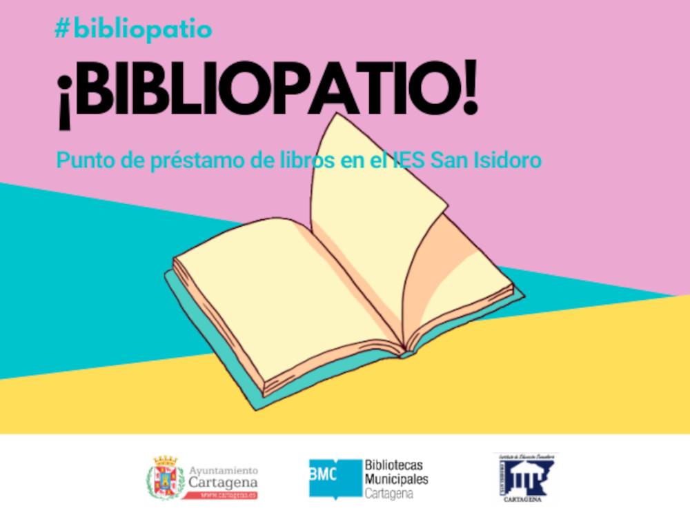 'Bibliopatio' acercará la lectura al recreo del IES San Isidoro
