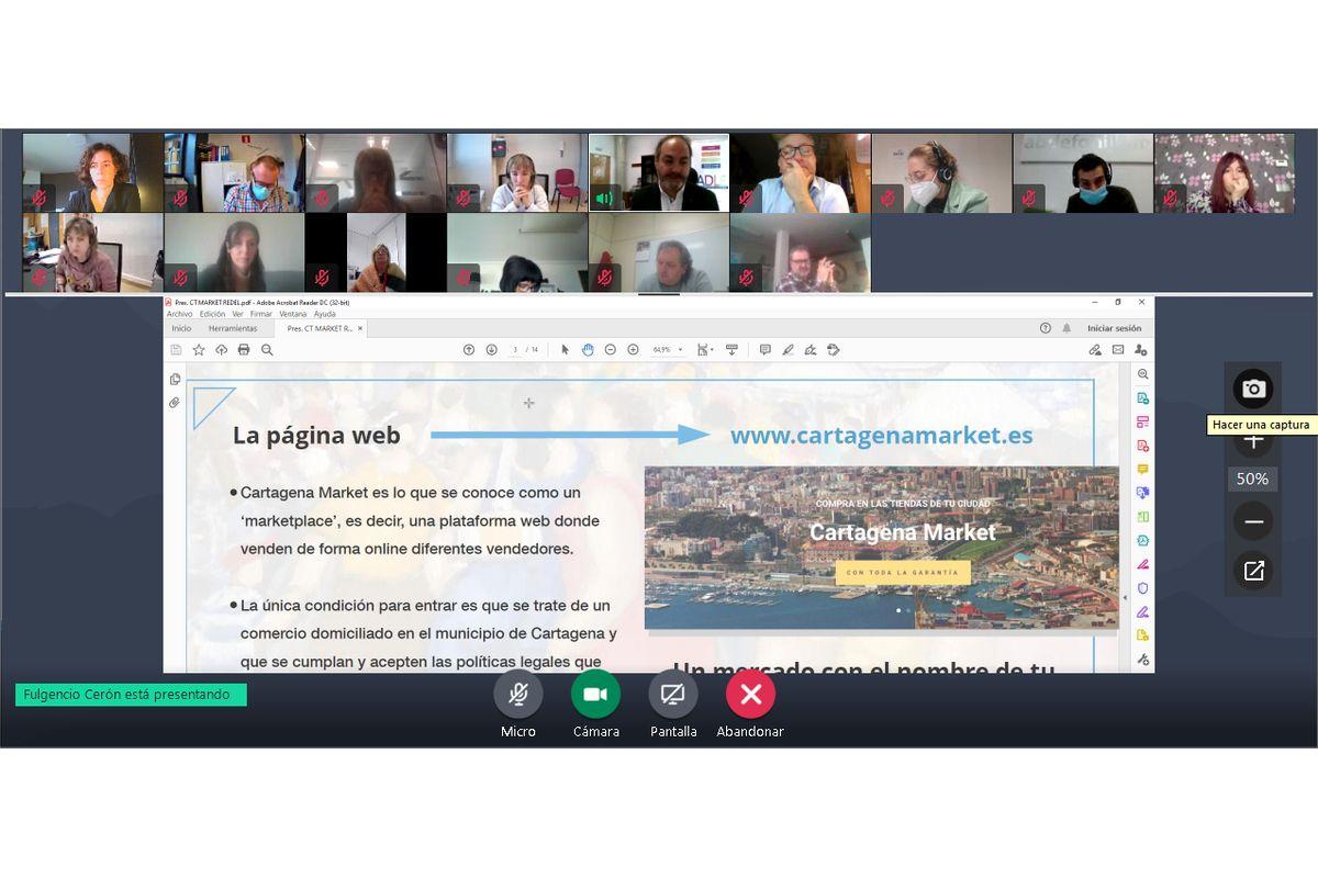 Encuentro digital de la Red de Entidades para el Desarrollo Local (REDEL)