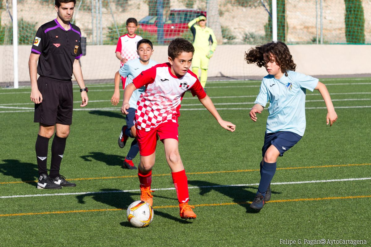 Imágenes de la Copa de la Liga Comarcal de Fútbol Base de 2019