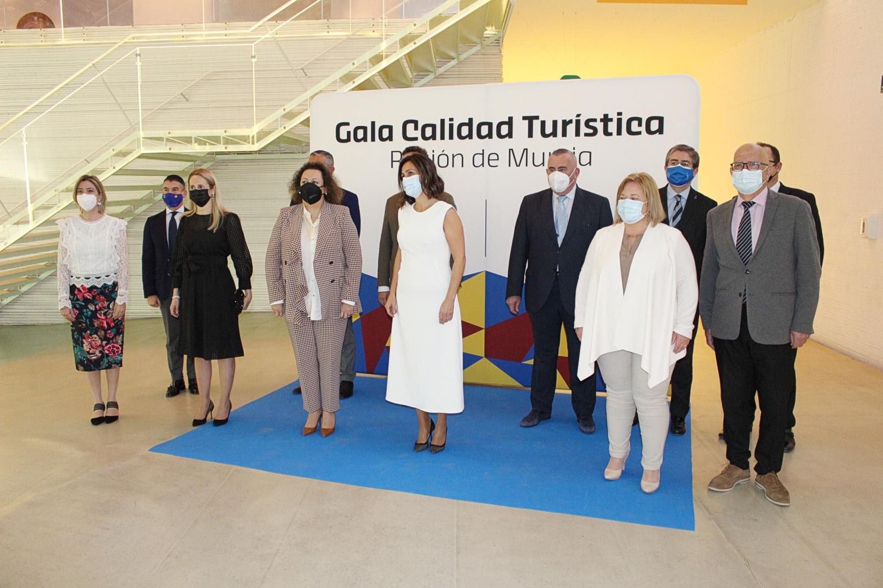 Gala de Turismo celebrada en El Batel.
