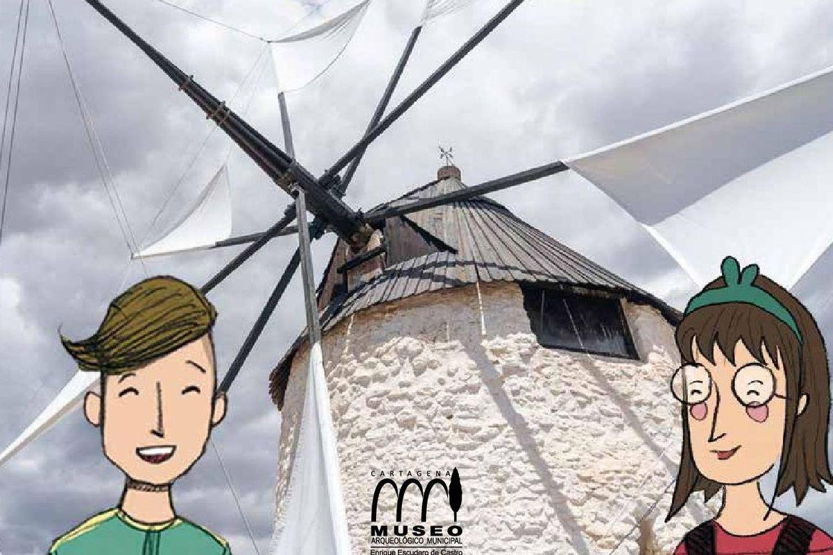 Cuadernos molinos de viento de Cartagena