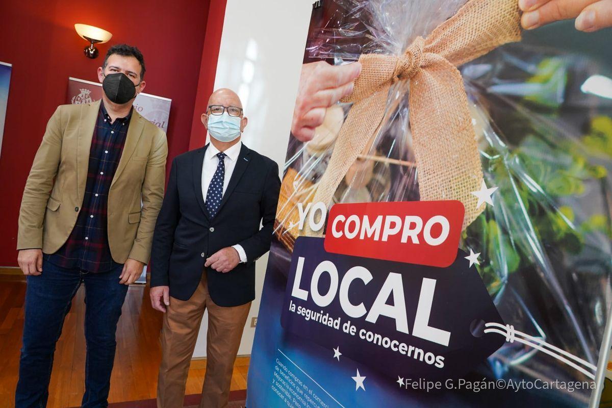 Presentación de la campaña 'Yo compro local' para la dinamización del comercio de proximidad