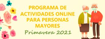 Programa de Actividades Online para personas Mayores