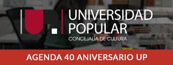 Agenda del 40 Aniversario de la UP