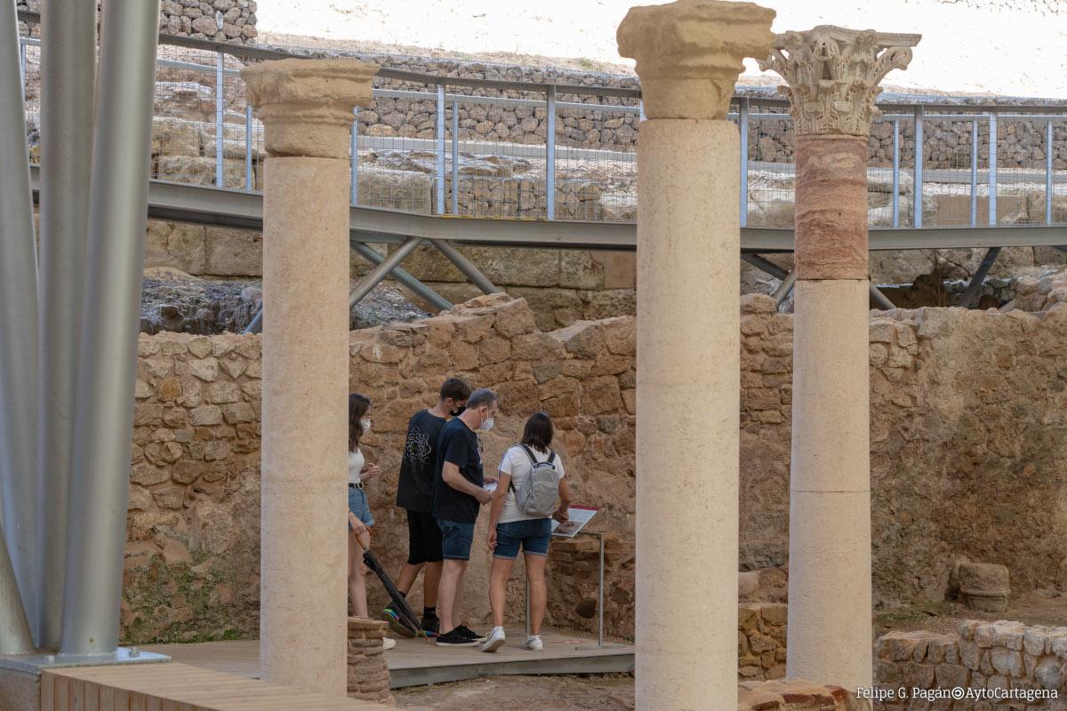 Visitas en el Foro Romano