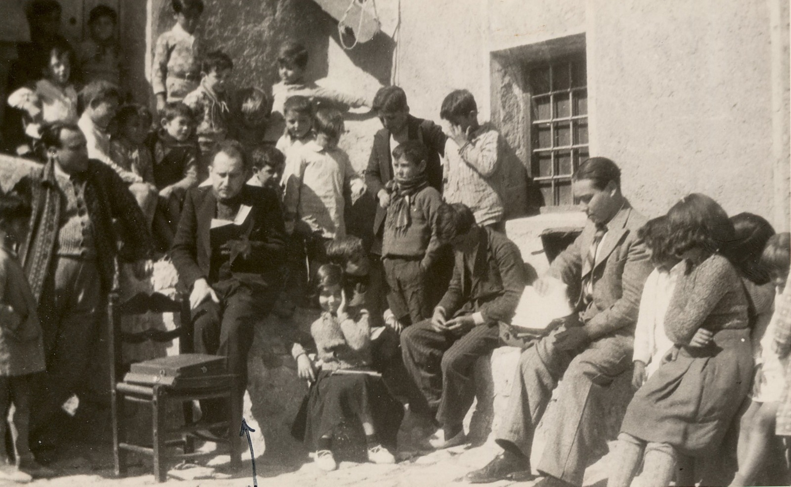 Antonio Oliver en los inicios de la Universidad Popular