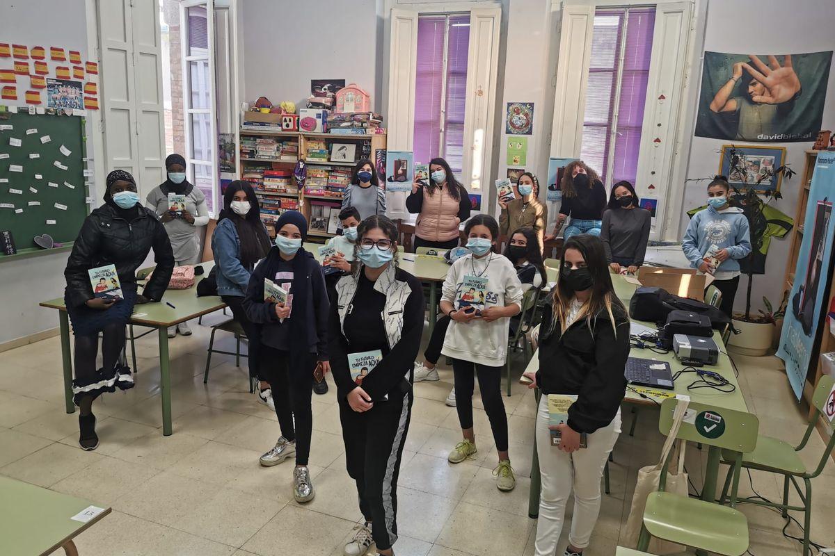 El Centro Intercultural del Casco Antiguo participa en el Programa Mandarache para Jóvenes Lectores