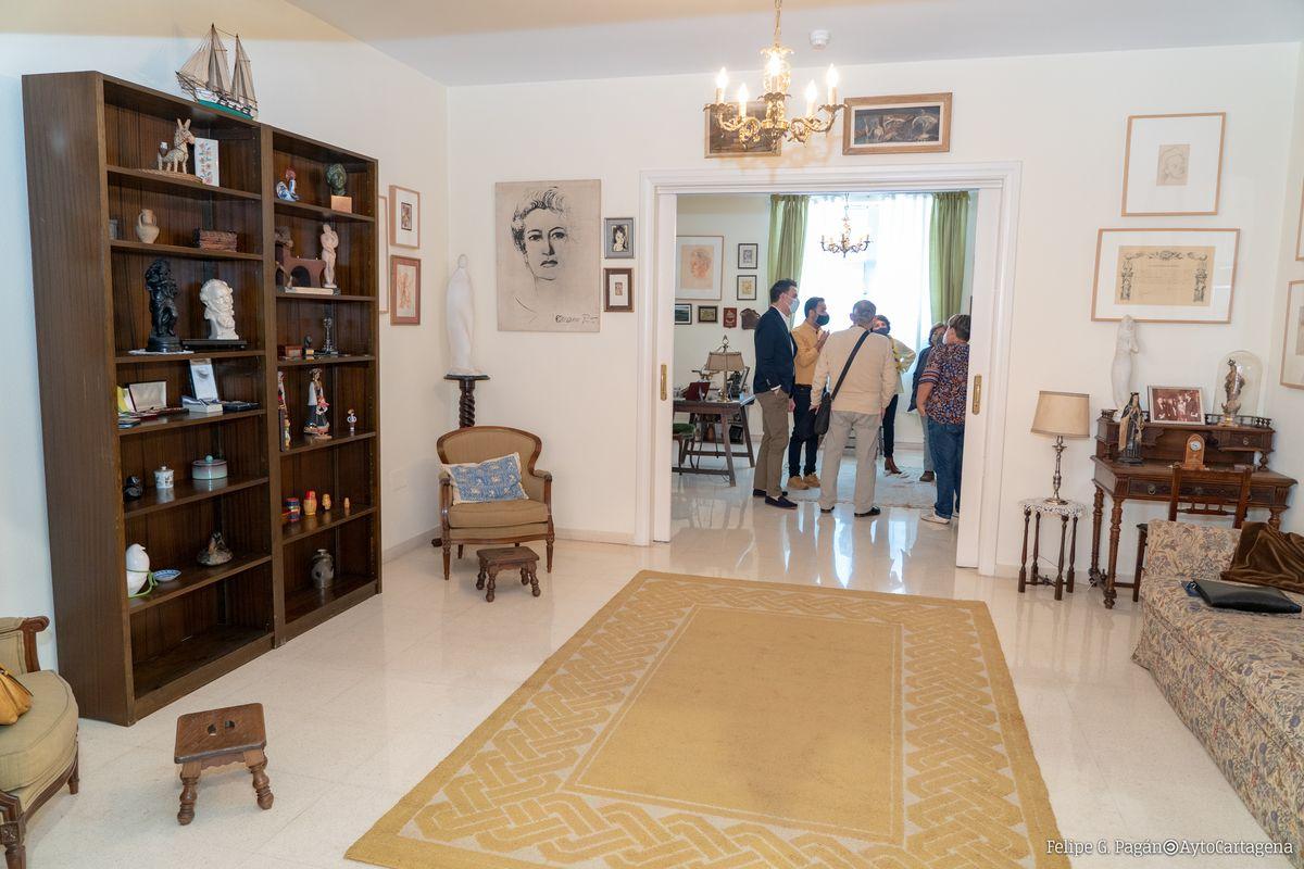 Museo de Carmen Conde en el Centro Cultural Ramón Alonso Luzzy