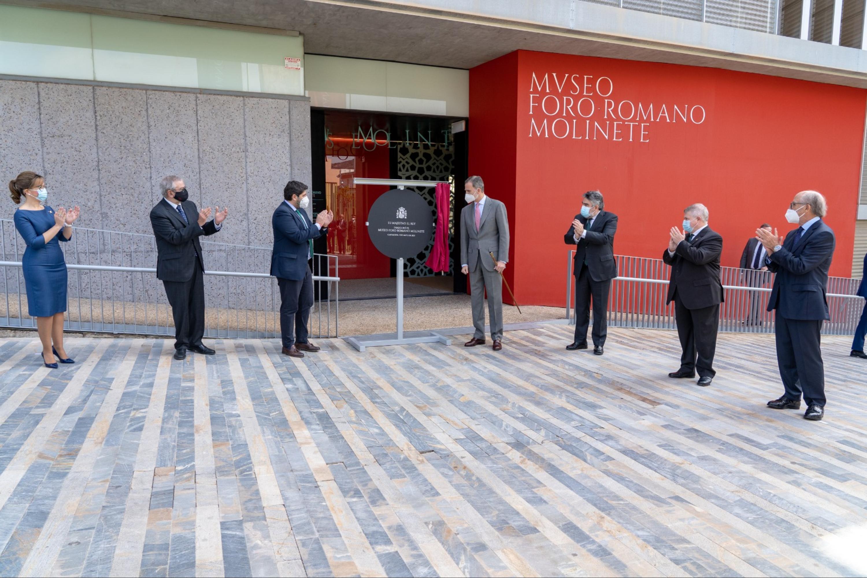 Inauguración Museo Foro Romano Molinete