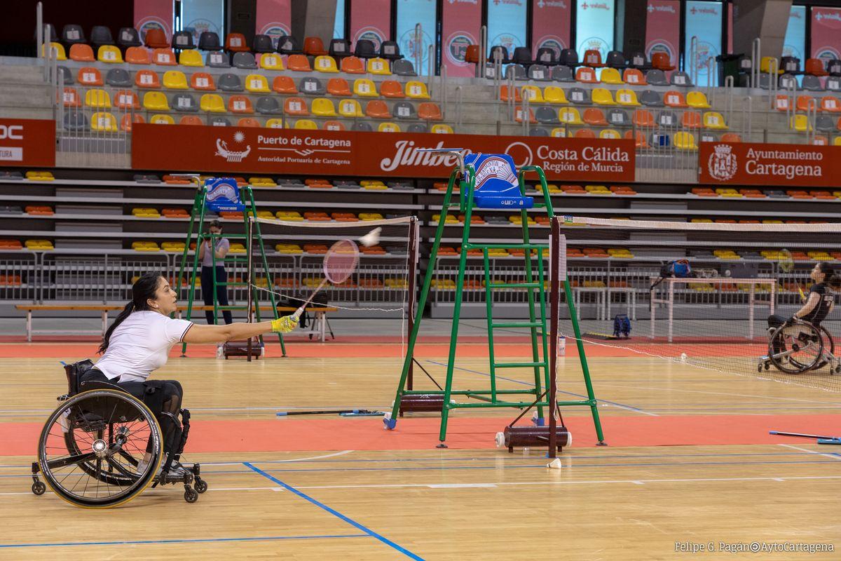 Presentación del Campeonato Internacional de Bádminton Paralímpico