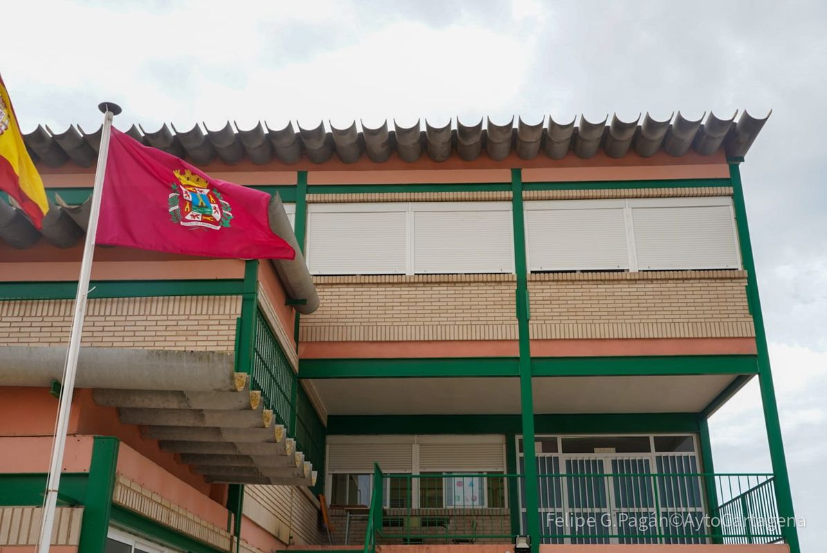 Visita al colegio.