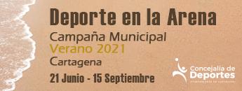 Campaña Municipal Verano 2021 DEPORTE en la arena