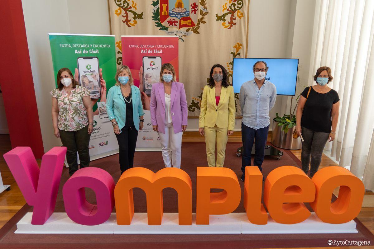 Presentación de la app Yompleo