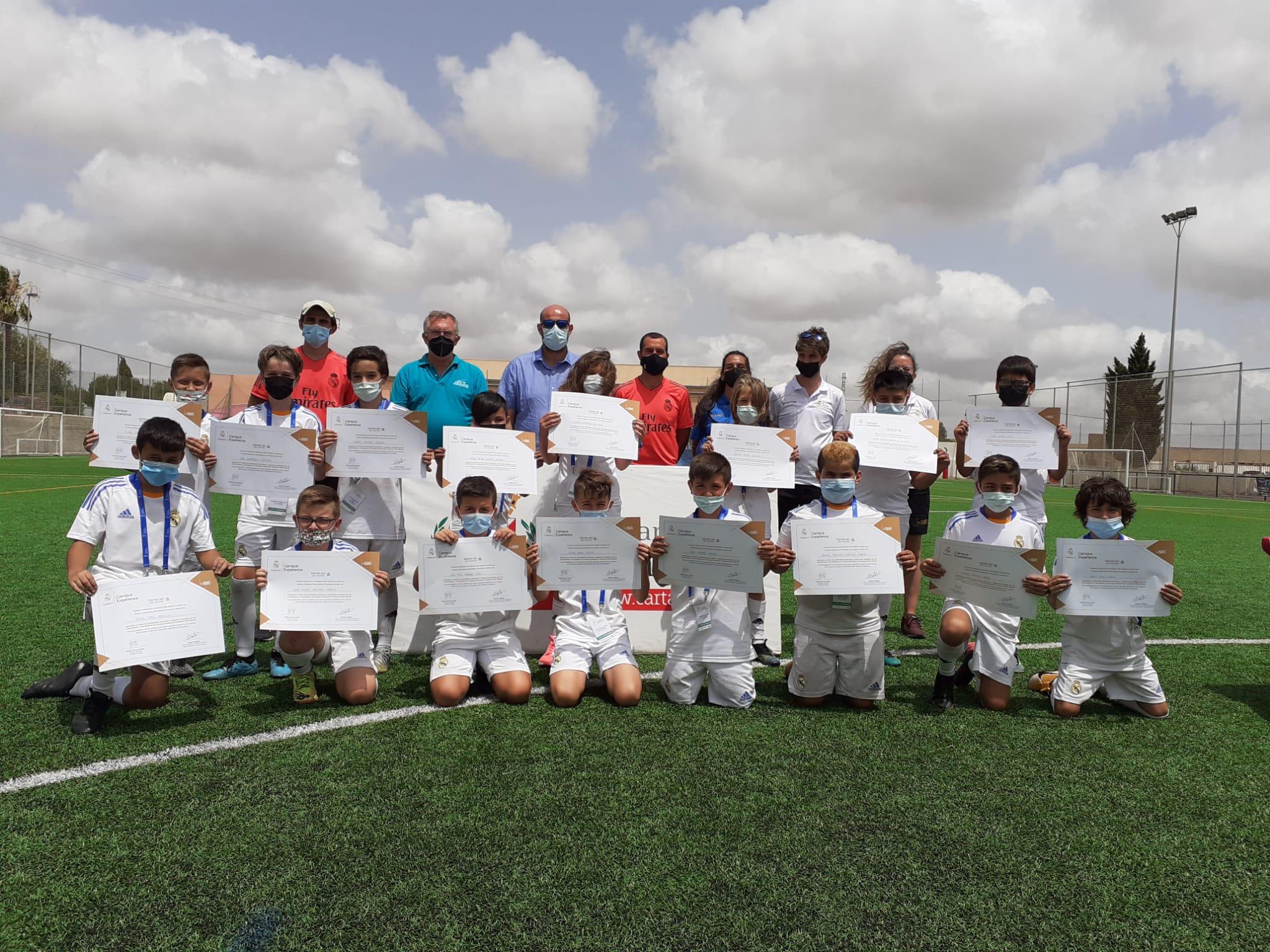 Clausura primer Campus Experience Fundación Real Madrid