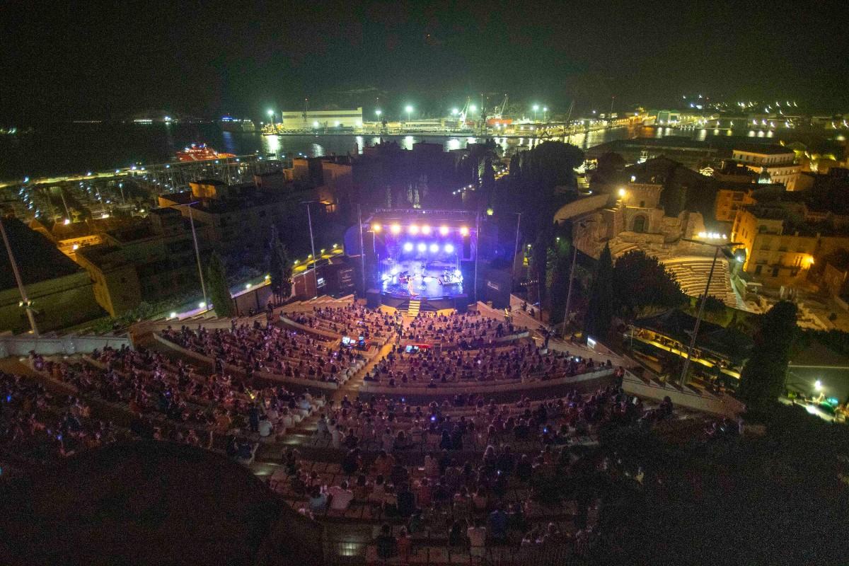 Auditorio Paco Martin en la celebración de La Mar de Músicas