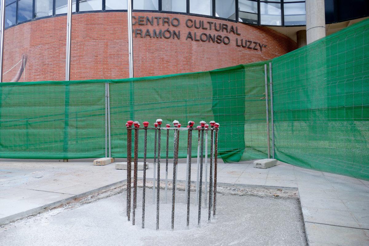 Monumento colectivo conmemorativo del 40 aniversario de la UP