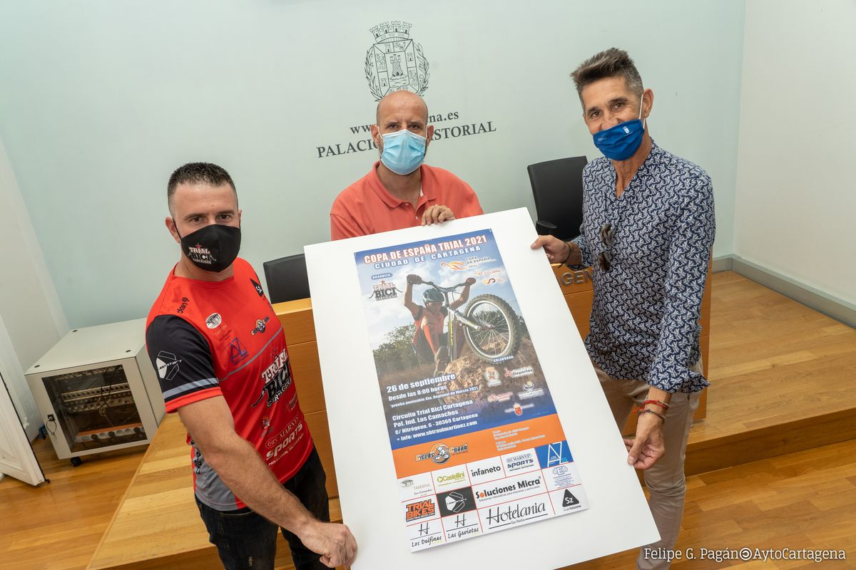 Presentación del Campeonato de Trial Bici.