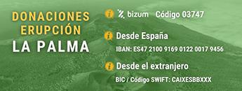 Cartagena hace un llamamiento para ayudar a los afectados por el volcán de La Palma. Documento PDF - 73,53 KB - Fecha de revisión: 30/09/2021). Se abre en ventana nueva