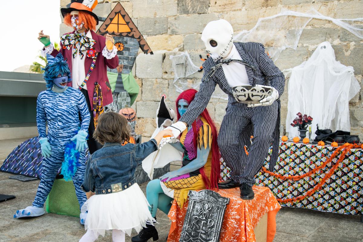 Halloween en el Castillo de la Concepción.