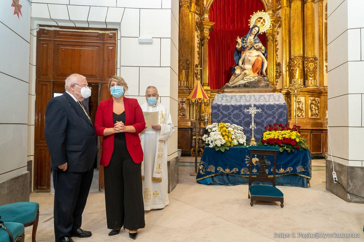 Visita a la Basílica de la Caridad.