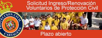Solicitud Ingreso/Renovaci�n  Voluntarios de Protecci�n Civil