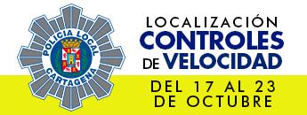 Controles de Velocidad. Del 17 al 23 de octubre de 2016