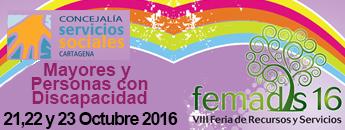 FERIA de Recursos y Servicios para Mayores y Discapacitados FEMADIS