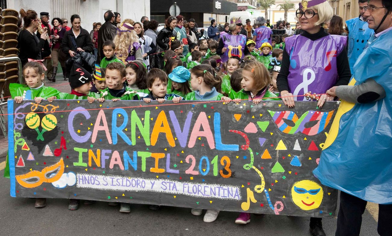 Carnaval Infantil CEIP San Isidoro y Santa Florentina. imagen de archivo