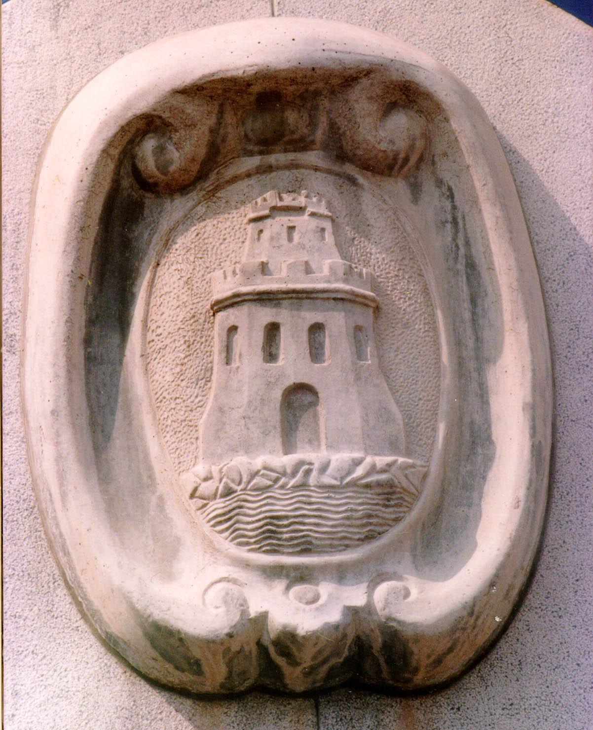 Escudo de la antigua fuente de San Francisco