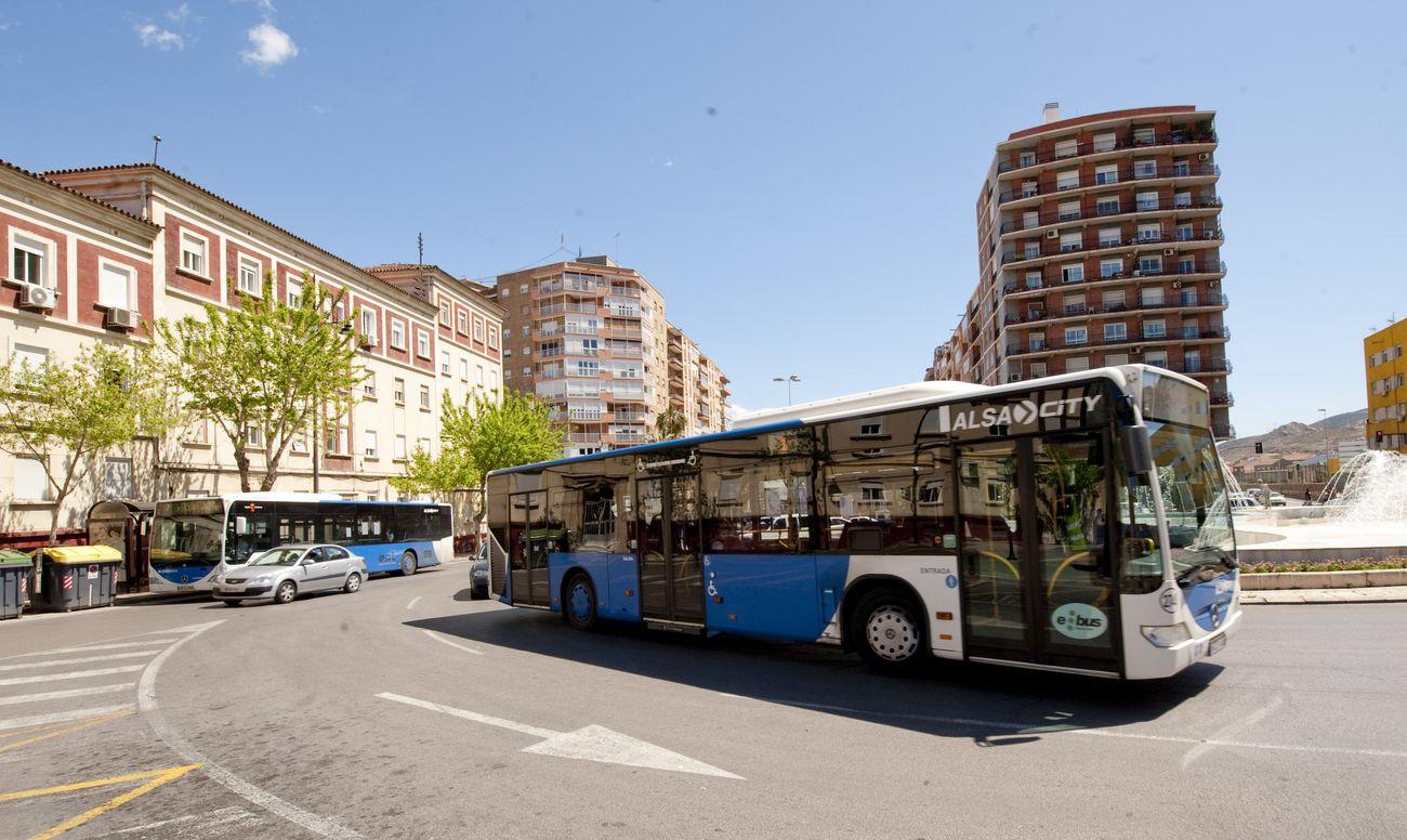 Autobuses urbanos de Cartagena