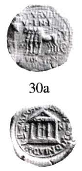 Otra moneda romana acuñada en Carthago Nova