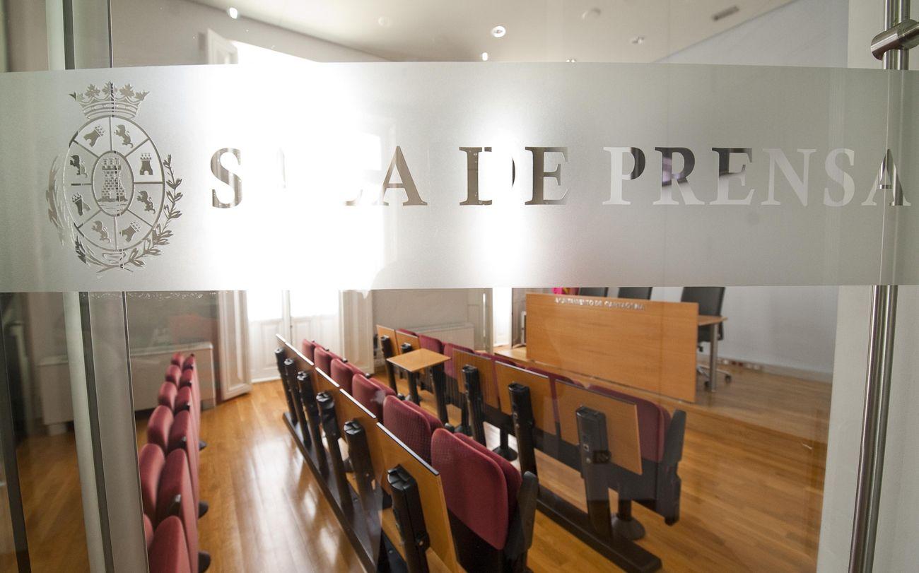 Sala de prensa del Palacio Consistorial