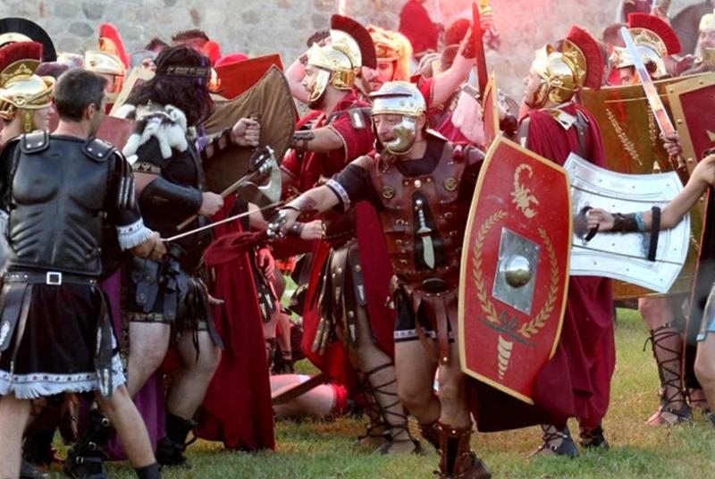 Resultado de imagen para miles de flores murcia españa Fiestas de Carthagineses y Romanos