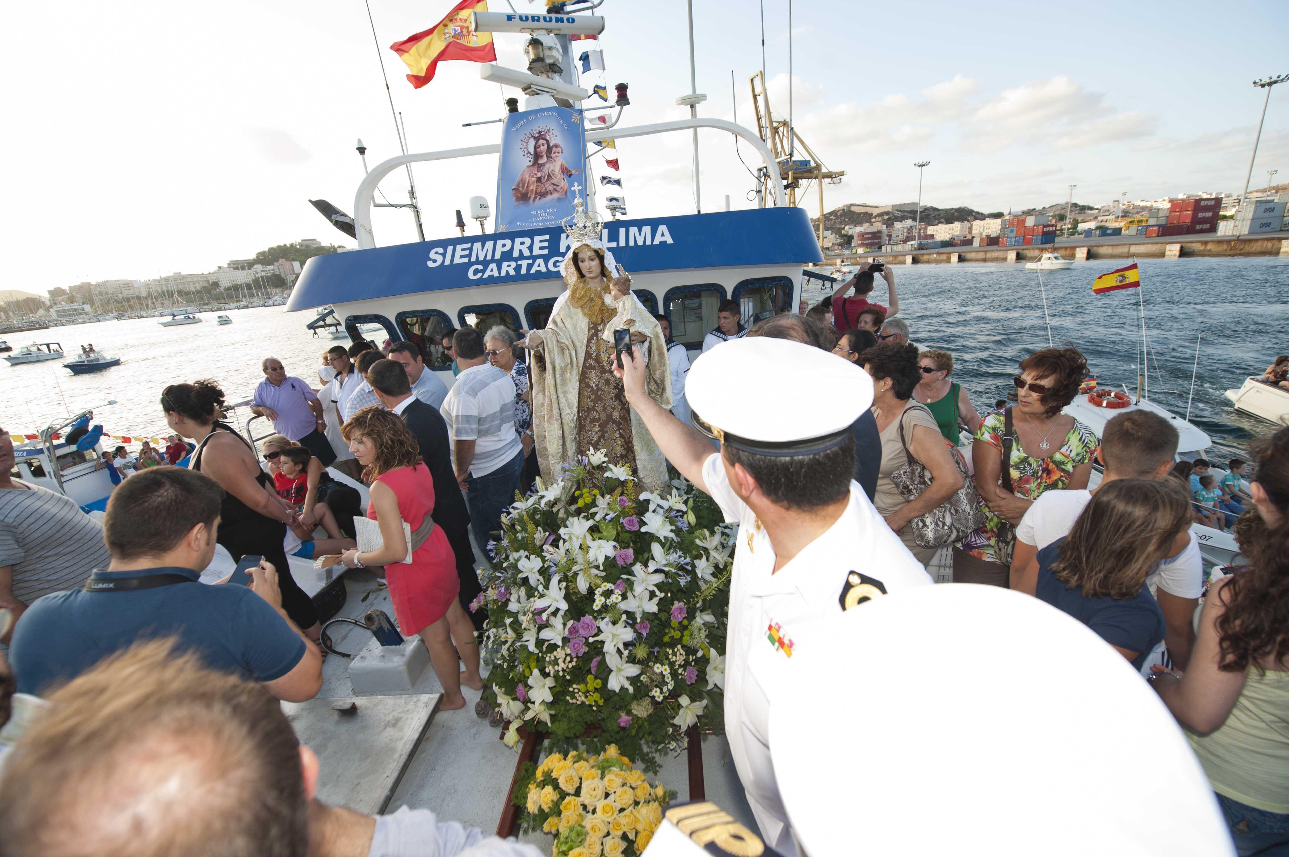 Procesiones Marítimas del Carmen