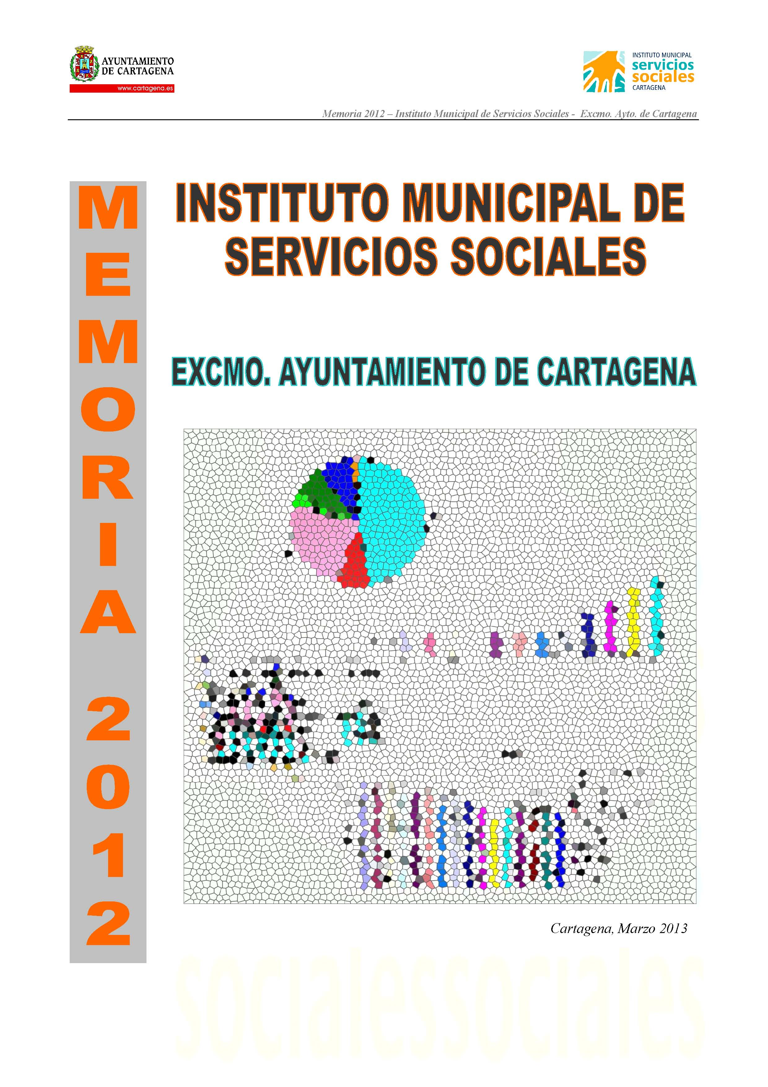 Memoria del Instituto Municipal de Servicios Sociales 2012. Documento PDF - 3,02 MB. Se abre en ventana nueva