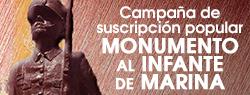 Campa�a de suscripci�n popular para el monumento al Infante de Marina