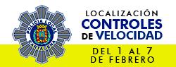 Ubicaci�n Controles de Velocidad 1-7 febrero 2016