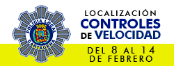 Ubicaci�n Controles de Velocidad 8-14 febrero 2016