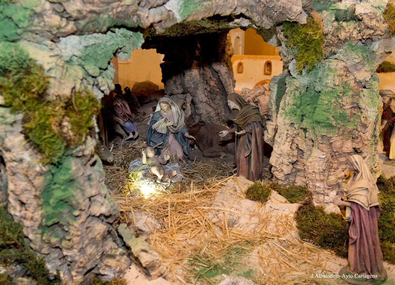 Inauguración del Belén y encendido de alumbrado Navideño