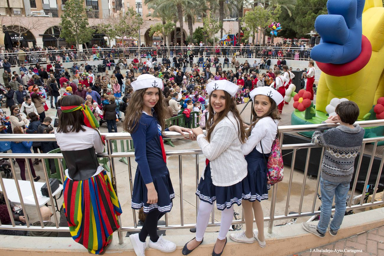 Carnaval Infantil 2016 en la plaza Juan XXIII