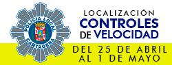 Ubicaci�n Controles de Velocidad 25 de abril - 1 de mayo 2016