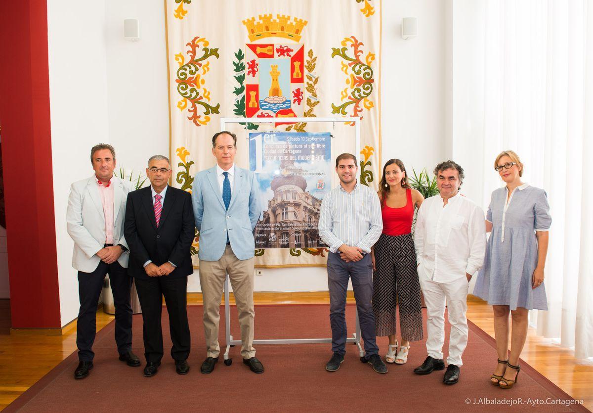 Cartagena ser el lienzo de un concurso de pintura al aire libre con motivos modernistas - Pintores en cartagena ...