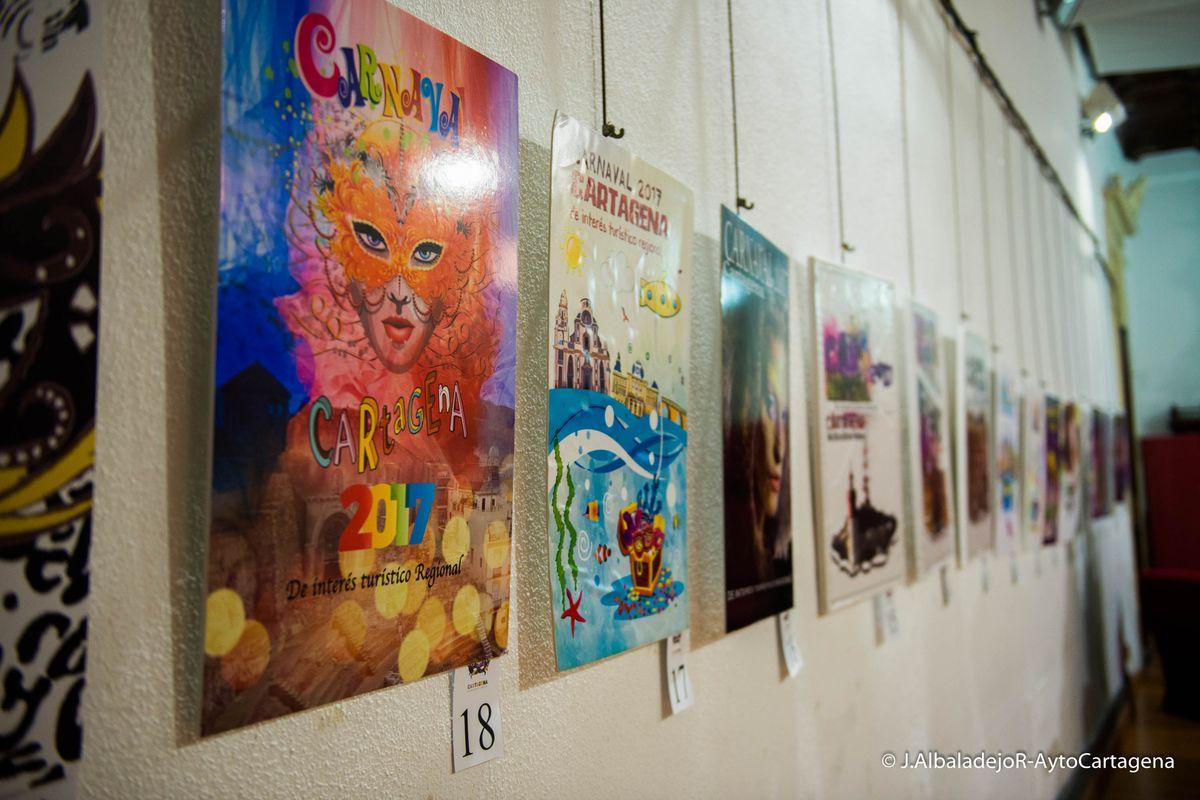 Exposición de carteles del Carnaval
