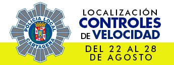 Controles de Velocidad. Del 22 al 28 de agosto de 2016