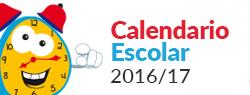 Calendario Escolar 2016/17. Documento PDF - 154,27 KB. Se abre en ventana nueva
