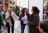 Ana Belén Castejón en la Gran Tómbola del Comercio